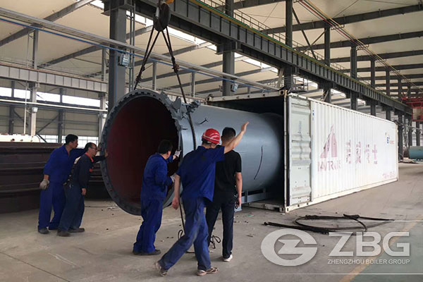 Industrial Autoclave Exported to Uzbekistan