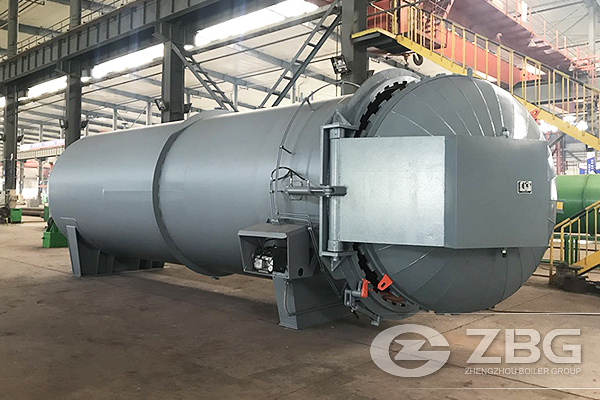 Vulcanization Tank Exported to Chile