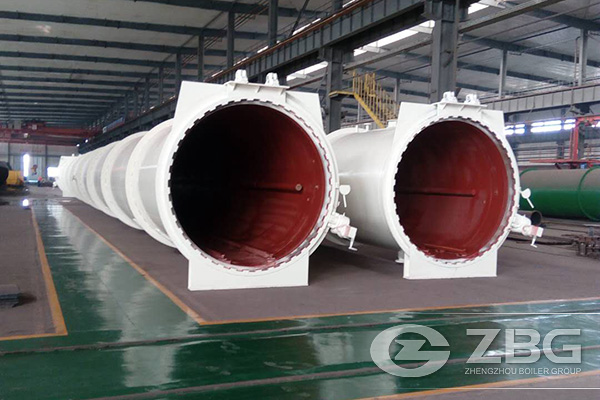 New Building Material Production Line Autoclaves Project