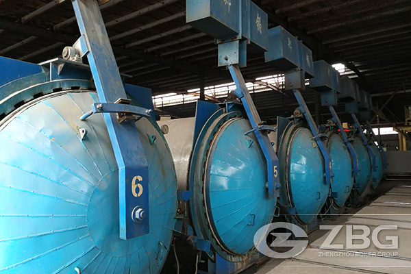 12 Sets of Autoclaves for AAC Plant