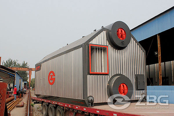 10 Ton Biomass Boiler Project in Beverage & Food