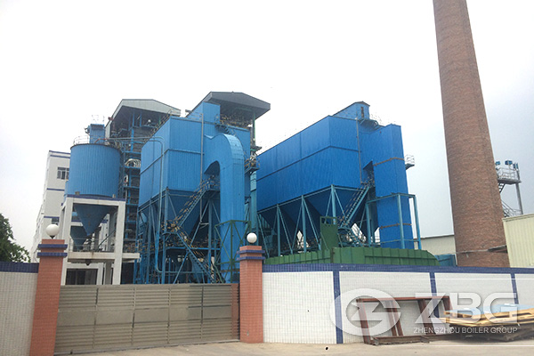 60 Ton CFB Power Plant Boiler Project