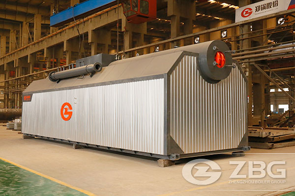 20 Tons Chain Grate Coal Fired Boiler for Paper Industry