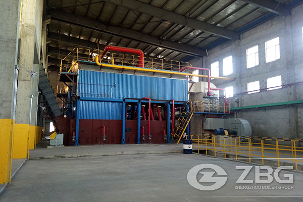 2 Sets of Chain Grate Boilers in Inner Mongolia