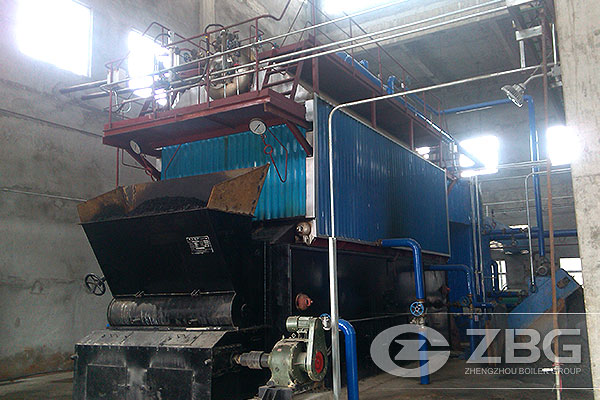 10T 20T Coal Fired Boiler in Fertilizer