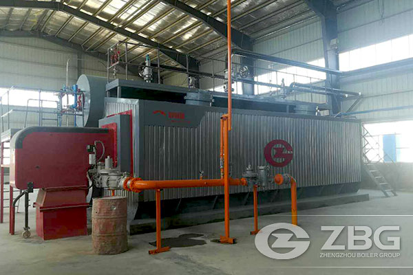 40 Tons Gas Fired Boiler for Paper Industry