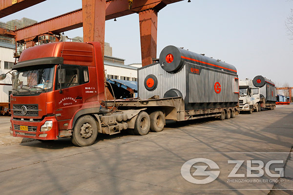 Two Sets of 20 Tons SZS Steam Boiler