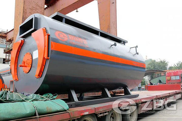 8 Tons WNS Series Boiler for Russia