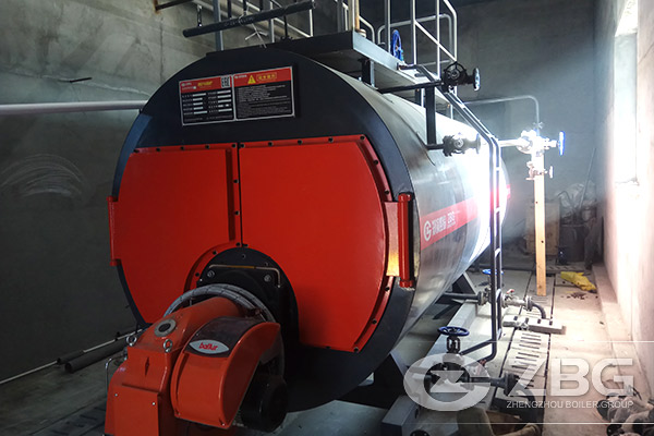 3 Tons Gas Fired Boiler Exported to Russia