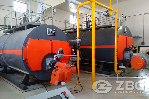 10 Tons Gas Fired Boiler in Beijing
