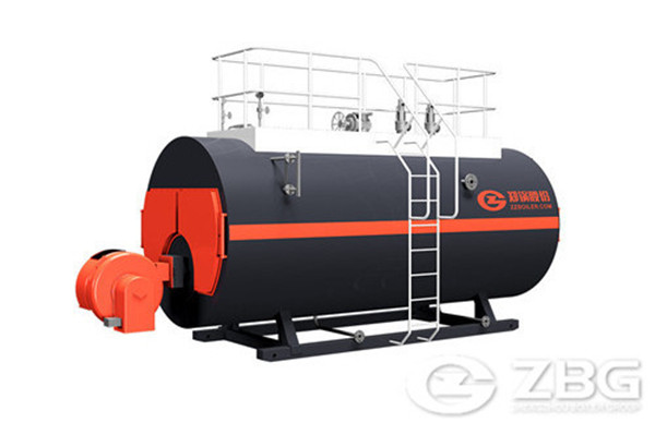 8 ton oil gas steam boiler for a