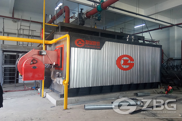 10 Tons Gas Fired Hot Water Boiler for Heating