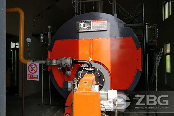 6 Ton Saturated Natural Gas Steam Boiler Project