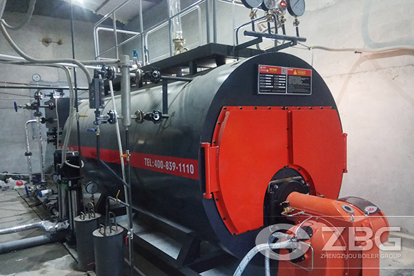 3 Tons Gas Fired Boiler Exported