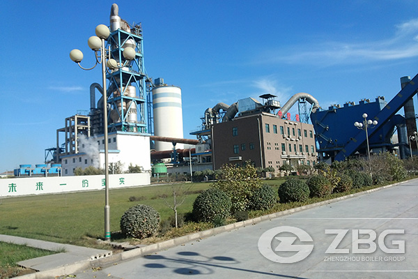 Cement Kiln Waste Heat Boiler Project