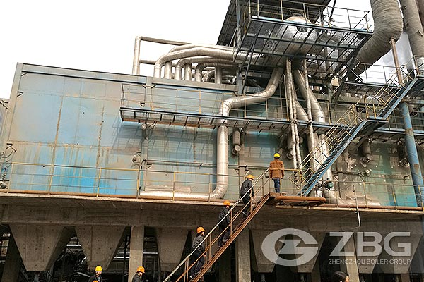 25Y08 Waste Heat Boiler Used in Chemical Company
