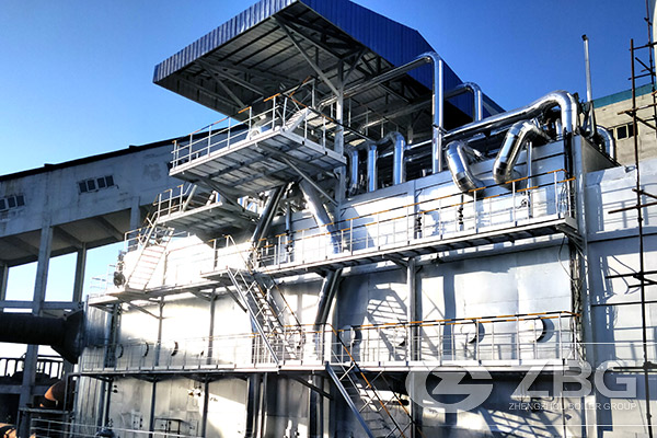 49 Tons Waste Heat Steam Boiler Project in China