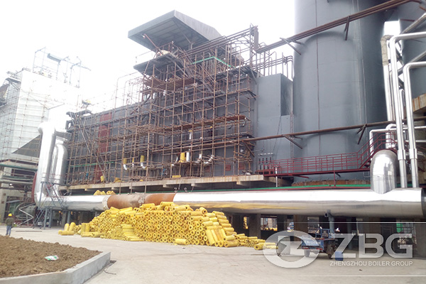 75 Tons Chemical Industry Waste Heat Boiler Project