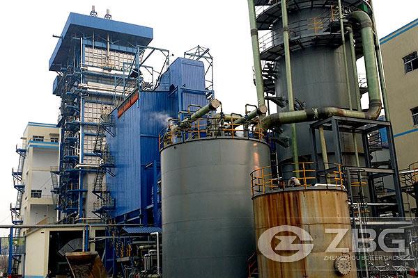 High Pressure Superheated Steam Boiler 40Ton--ZBG