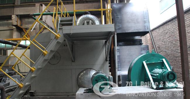 watertube gas oil steam boiler