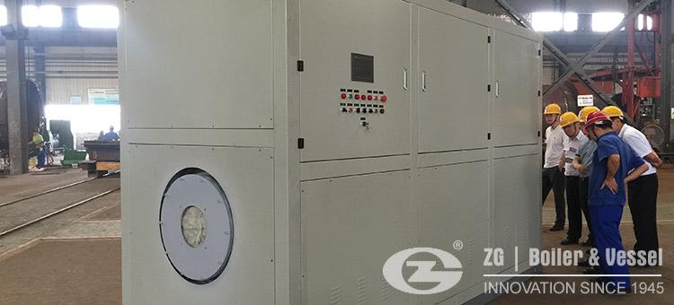 gas oil vacuum hot water boiler