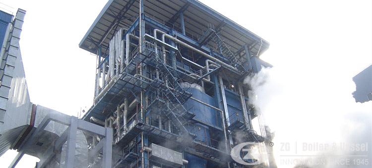 waste heat boiler for steel industry