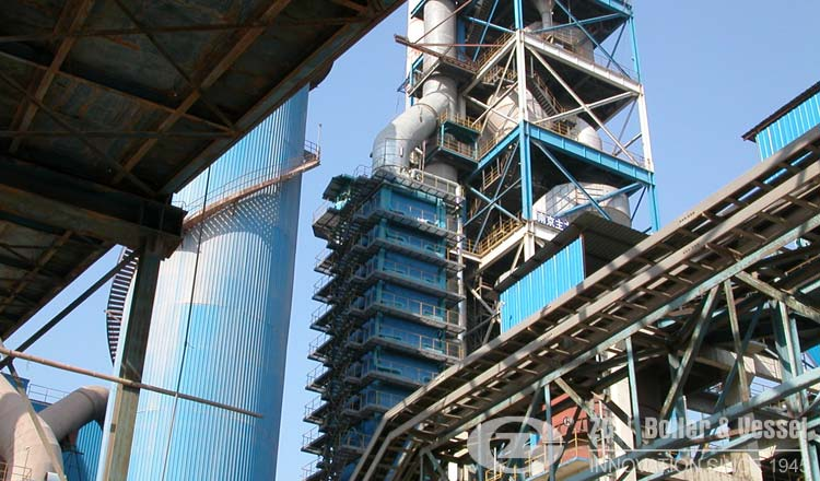 cement plant waste heat boiler
