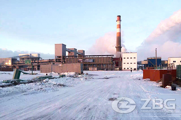 Kazakhstan Petroleum Coke Calcining Waste Heat Boiler Project