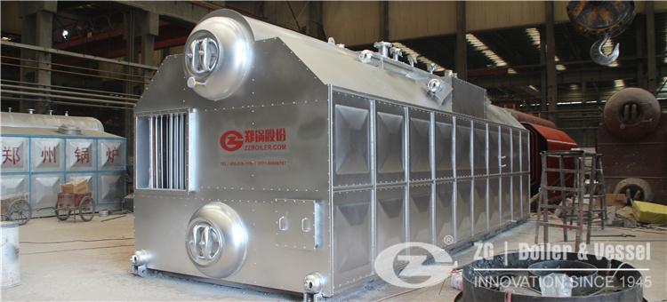 15t coal fired hot water boiler