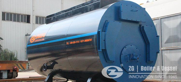 fire tube gas fired hot water boiler