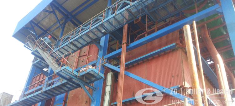 biomass fired CFB boiler special design