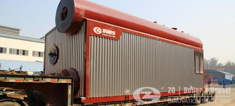 gas fired water tube boiler
