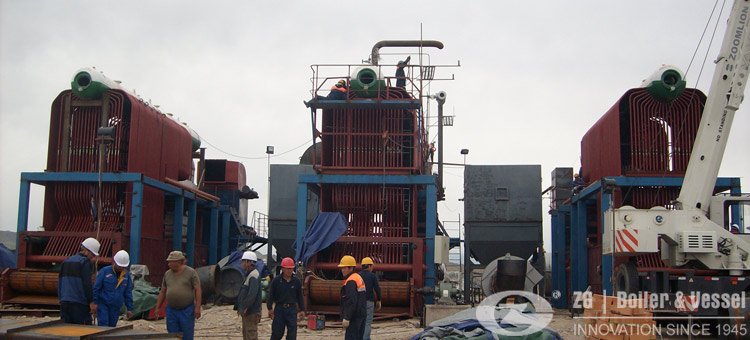 20 ton chain grate boiler coal fired steam boiler
