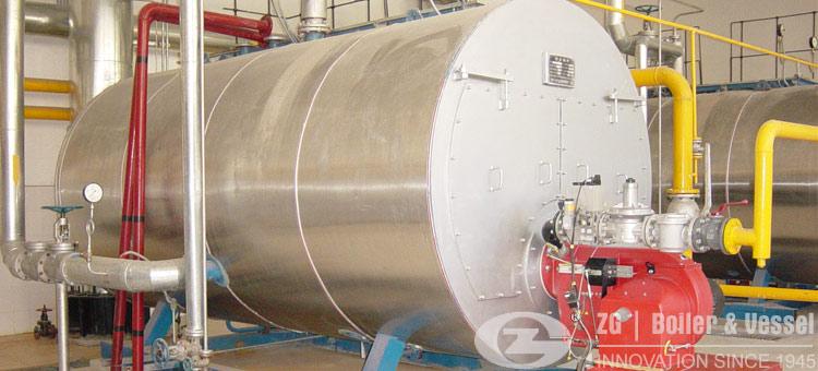 gas fired hot water boiler