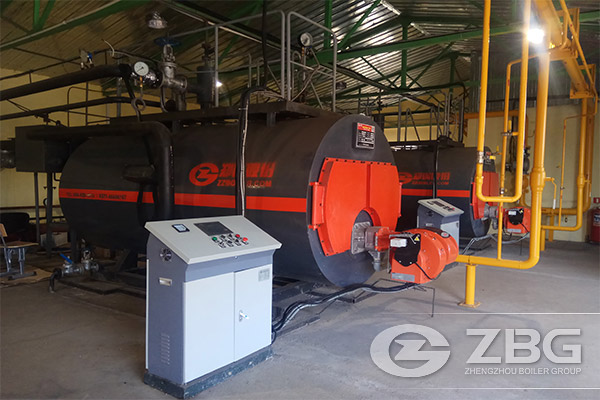 ZBG WNS1.4MW Gas Fired Boiler Was Praised in Russia
