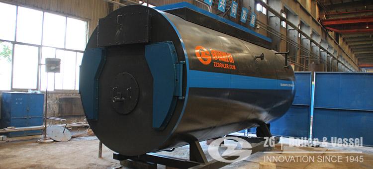 gas oil steam boiler