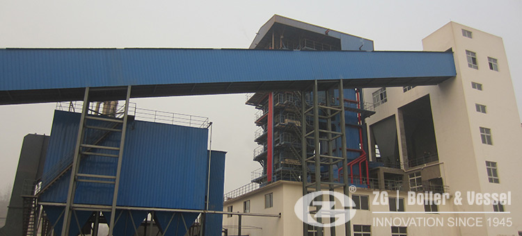 Biomass fired CFB boiler for power generation