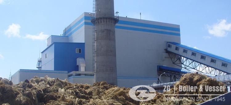 straw utility boiler