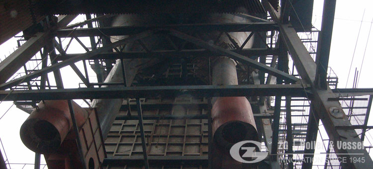 paper plant CFB Boiler