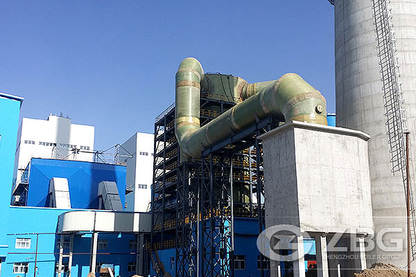 CFB boiler with high pressure