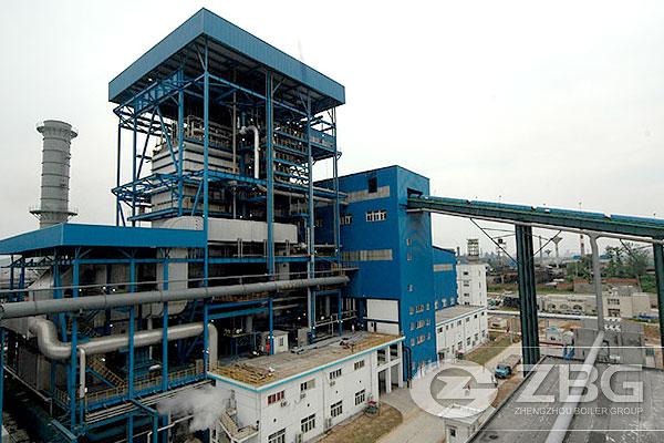 waste heat steam boiler with high pressure