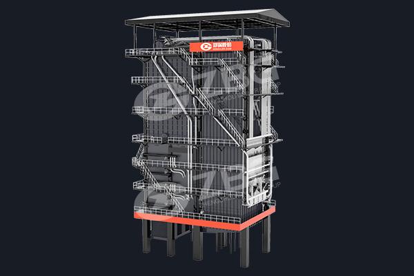 Caldera de la planta de energía de la biomasa del arroz