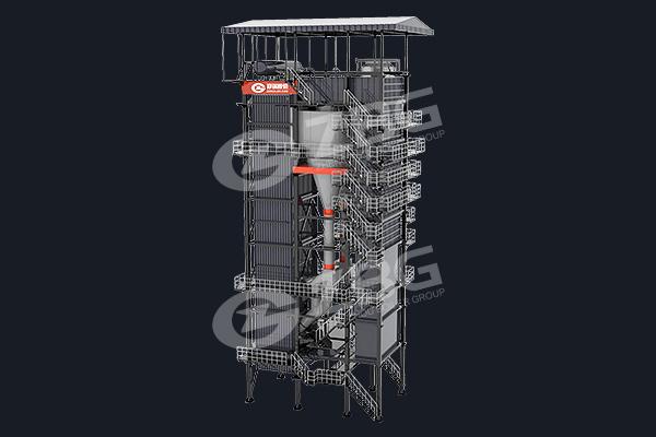 Chaudière LFC de centrale électrique