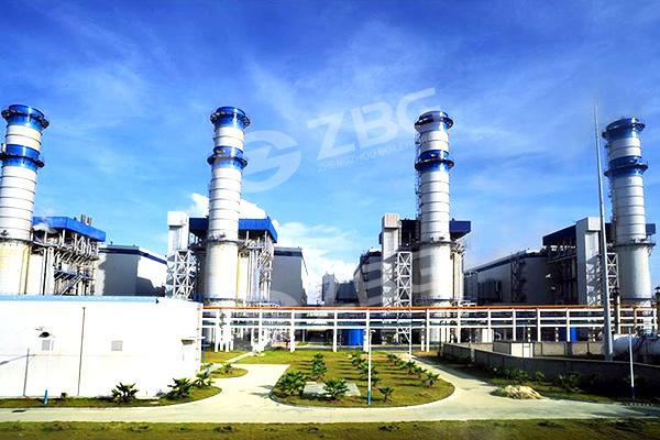 Caldera para la planta de generación de energía eléctrica