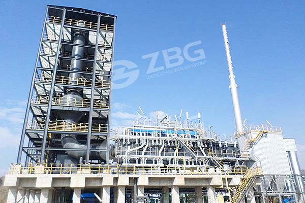 Caldera de gas de alto horno/gas de coque