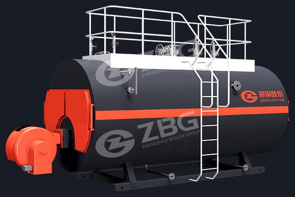 Caldera de tubos de fuego (pirotubular) WNS
