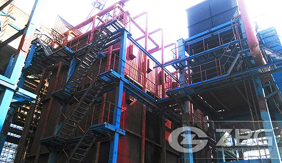 DHL Chain Grate Corner Tube Steam Boiler