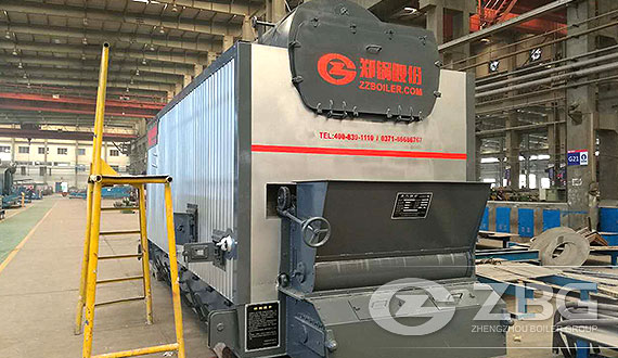 DZL Packaged Water-Fire Tube Steam Boiler