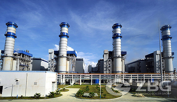 Gas / Oil Fired Power Plant Boiler