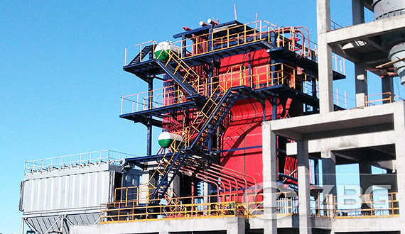 SHX Series Circulating Fluidized Bed (CFB) Steam Boiler